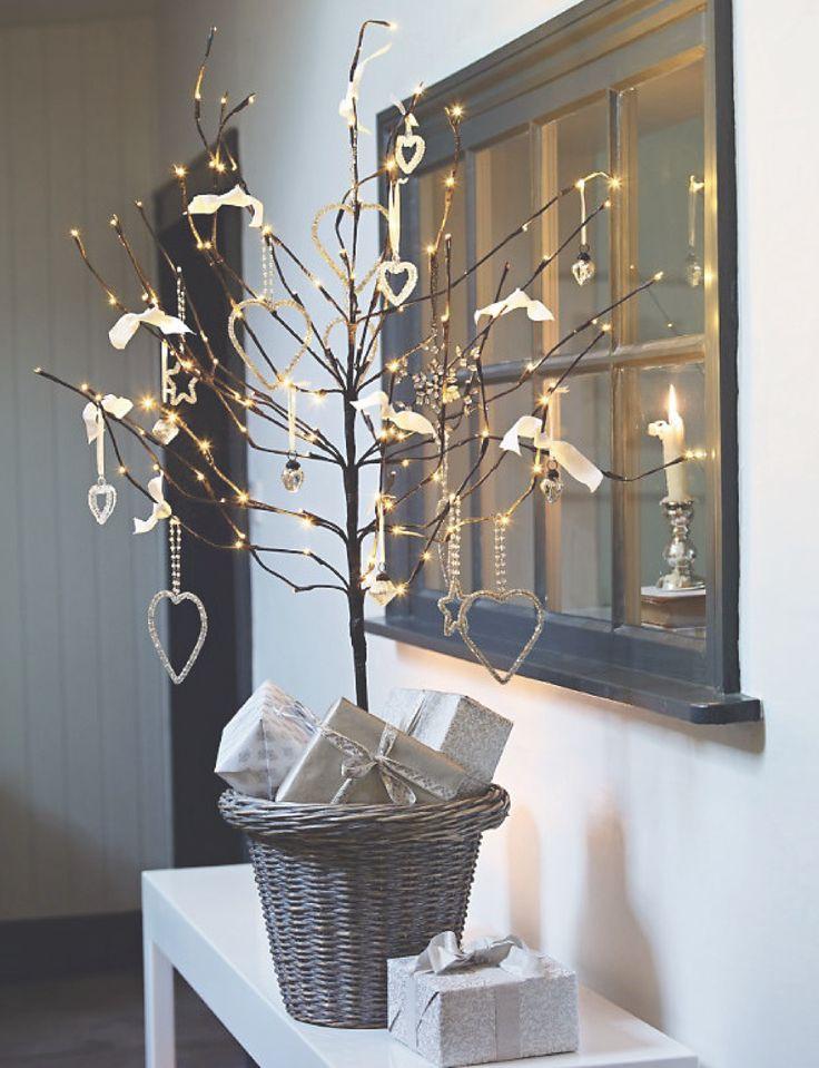 ✎ Blogpost - DIY kerstbomen die geen naalden verliezen ❥