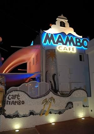 Cafe Mambo, San Antonio Sunset Strip, Ibiza, Spain. This is literally my favorite place in the entire world