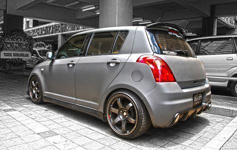 japanese custom cars: Suzuki Swift Full Racing