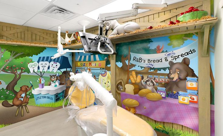 Newest Dental Theming - Themed Children's Environments | Imagination Dental Solutions