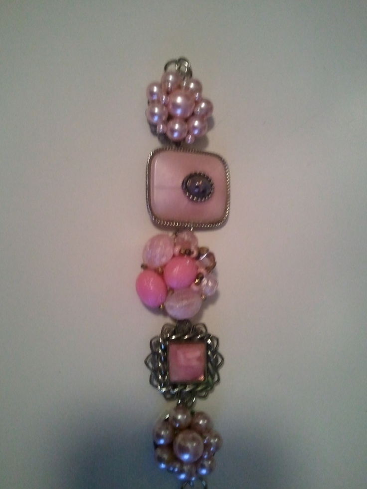 give me those earrings my breast cancer bracelet i made from my s clip 2092