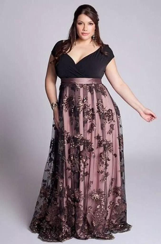32 atemberaubende Plus Size Abendkleid Ideen | Abendkleid ...