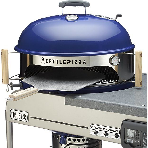 KettlePizza™ Deluxe USA Outdoor Pizza Oven Kit | Crate and Barrel