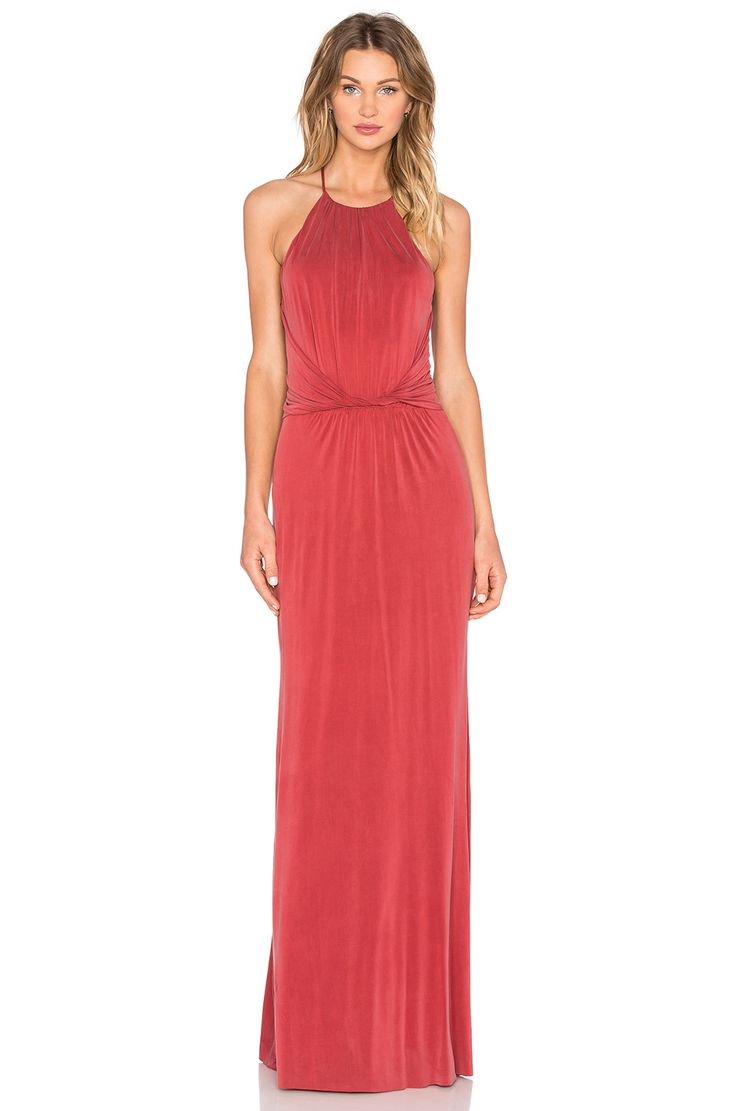 Bailey 44 Gazelle Gown in Spice Red