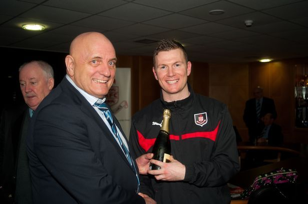Airdrieonians striker Bryan Prunty lost for words after joining 100 Goals club - Daily Record - Scotland