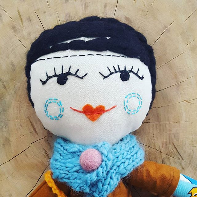 Details... ⭐⭐⭐ #plushie #doll #dollmaker #embroidered #squirrel #handmadedoll #kidsdecor #dollface #instamatka #lalka #clothesfordolls #handmade #hairdoll #softtoy #girltoys #heirloomdoll #blackhairs #etsykid #design #dladziecka #dolldress #dollmaker #design #dladziecka #przytulanka #forkids #kidsroom #scandistyle #sweet #drops