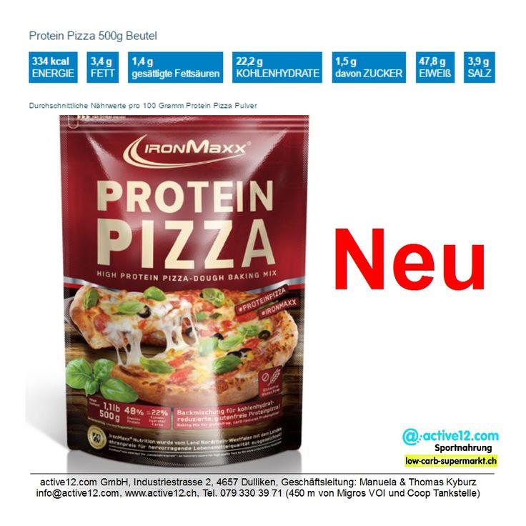 Protein Pizza Ironmaxx Backmischung - neu im Sortiment ►►► http://www.active12.ch/Neu-im-Sortiment/Protein-Pizza-Backmischung-Ironmaxx.html #Pizza #Proteinpizza #glutenfrei #lowcarb #Eiweiss #Protein #Ironmaxx #fein #lecker #abnehmen #Muskelaufbau #Fitness #Dulliken #Olten #active12 ►►► Lagerverkauf: http://www.active12.ch/info/Oeffnungszeiten.html