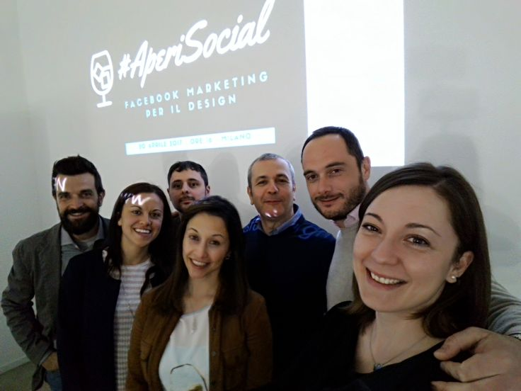 #AperiSocial *Facebook Marketing per il #design* - selfie 20.04.2017 by #DSforDESIGN & Promotedesign.it