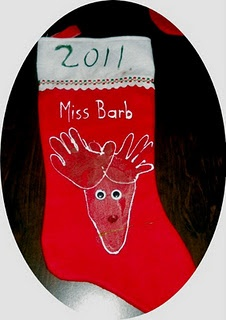 Quick Homemade Stocking Gift Idea for Your Child's Teacher from Classified: Mom