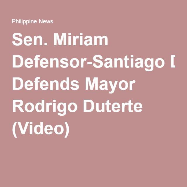 Miriam Defensor Santiago Quotes: 17+ Ideas About Miriam Defensor Santiago On Pinterest