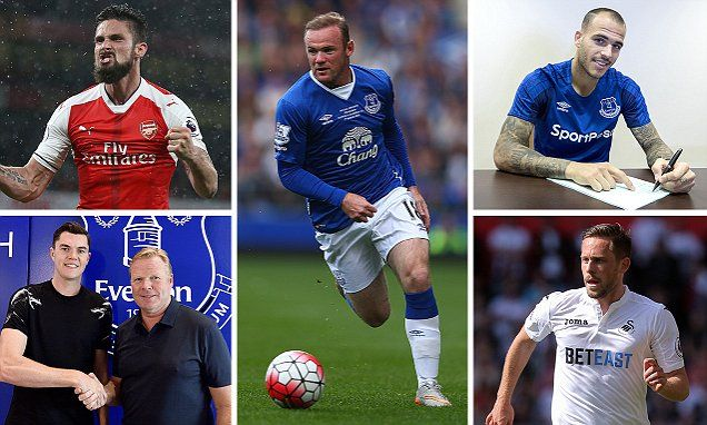 Everton XI how they could line up with Wayne Rooney and Co