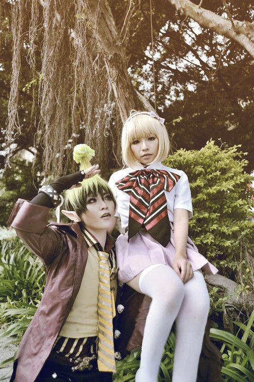 Amaimon & Shiemi Moriyama Cosplay. (Blue Exorcist)