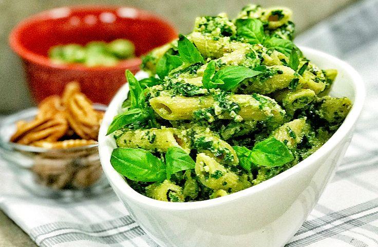 Tenemos para ti una deliciosa Pasta Integral con Pesto de Espinaca, no esperes más y prepárala con tu Thermomix®