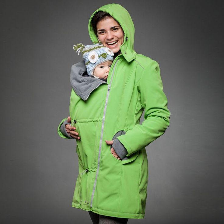 Roheline lapsekandmise jope via Nahast papud. Click on the image to see more! www.nahastpapud.eu
