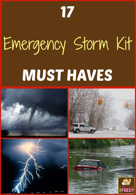 17 Emergency Storm Kit Must Haves