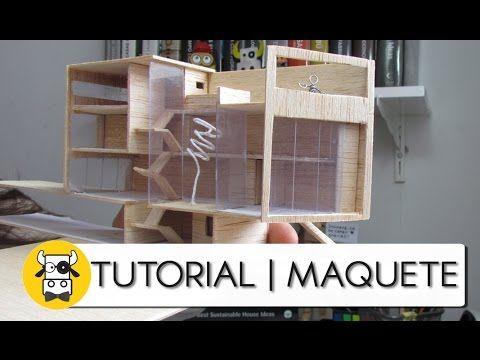 Tutorial de Maquete - Madeira Balsa - Parte 01 - Arquitetura e Urbanismo - YouTube