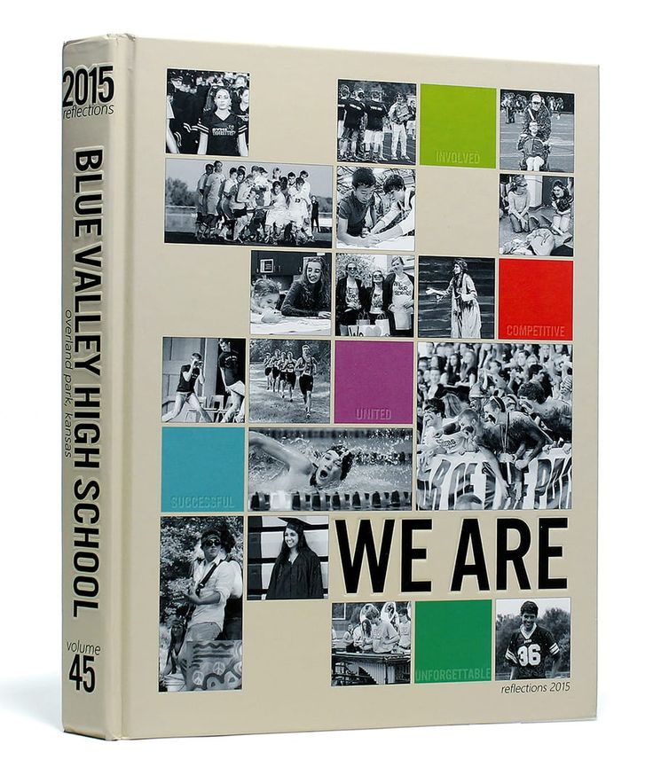 Blue Valley High School (Overland Park, KS) | 2015 Yearbook Cover | Theme: WE ARE | Printed by Herff Jones