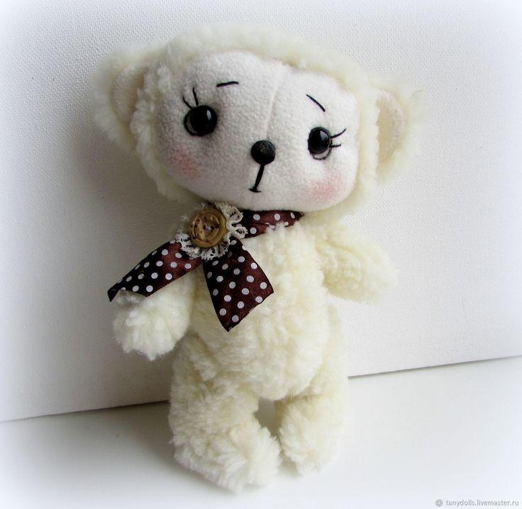 Купить Игрушка Мишка - малышка, рост - 22 см в интернет магазине на Ярмарке Мастеров