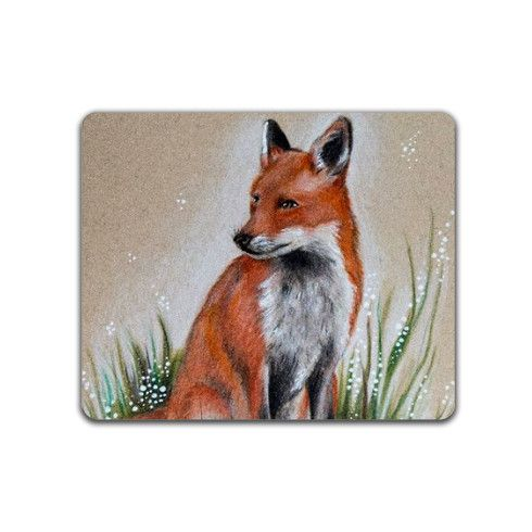 Forest Fox Placemat by helenfaerieart at zippi.co.uk