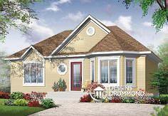 Plan de maison no. W3300 de dessinsdrummond.com