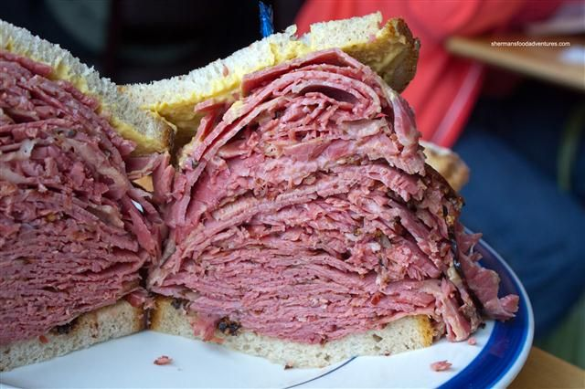 Montréal Smoked Meat sandwich, best one ever.