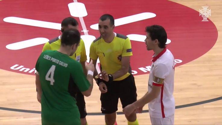 Liga Sport Zone 18.ª jornada: SC Braga/AAUM 2-2 Leões de Porto Salvo