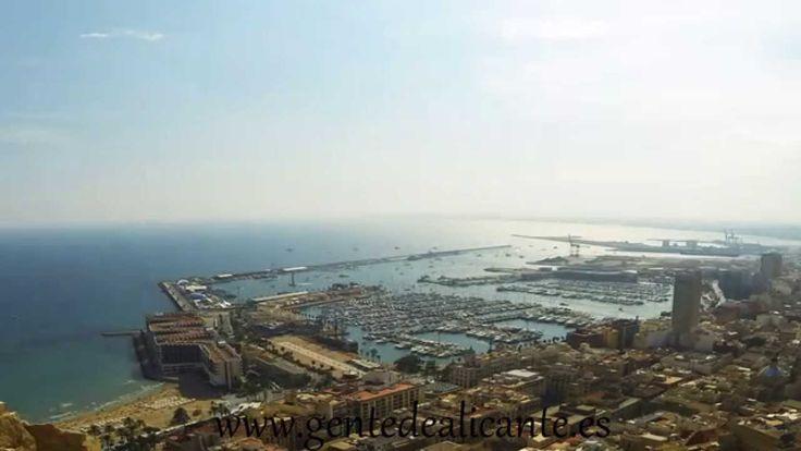 Alicante Time Lapse Puerto de Alicante Volvo Ocean Race 2014 avance...