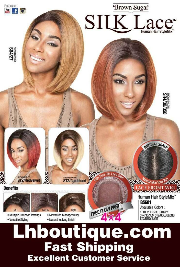 Luxe Beauty Supply - Isis Brown Sugar Human/Syn Lace Wig - BS 601, $59.99 (http://www.lhboutique.com/isis-brown-sugar-human-syn-lace-wig-bs-601/)
