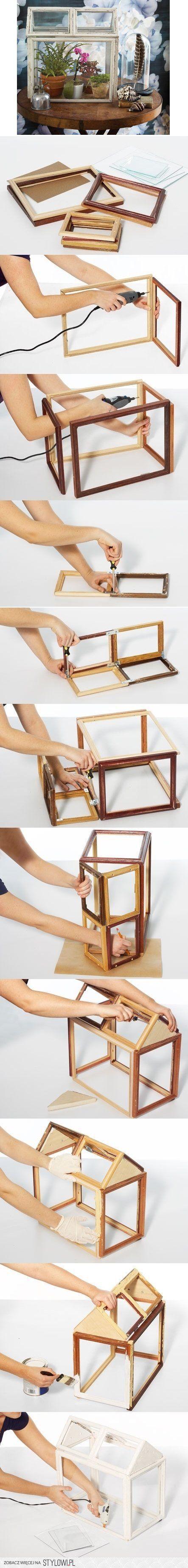 INSPIRATION: Mini greenhouse