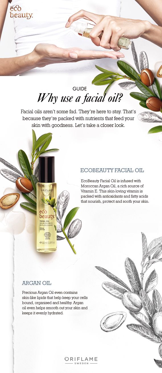 Facial oils are here to stay. Why? Because they work wonders for your skin. Here are a few reasons why you should start using a facial oil.