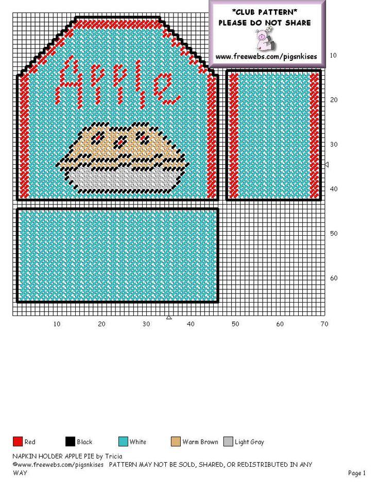apple pie napkin holder 2