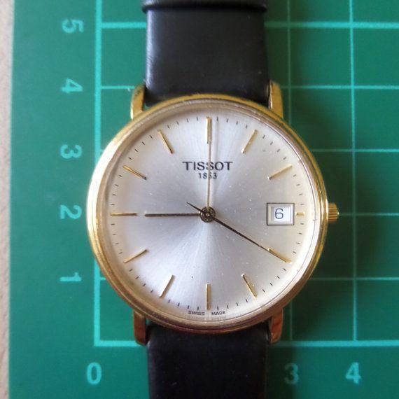 TISSOT 1853  - T870/970 - c.late 80's - Retro/Vintage Guaranteed Genuine, Swiss made Gents/Mens quartz wrist watch