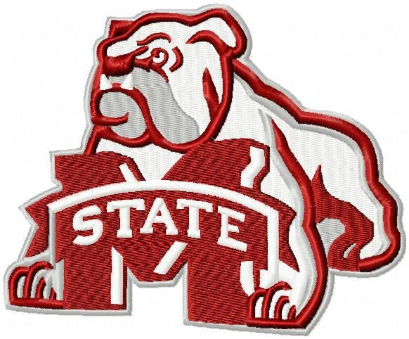 Mississippi State University Embroidery Designs