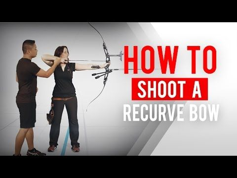 How to shoot a recurve bow | Archery 360 - YouTube