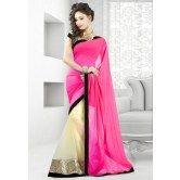 valehri-pink-and-cream-half-half-designer-saree