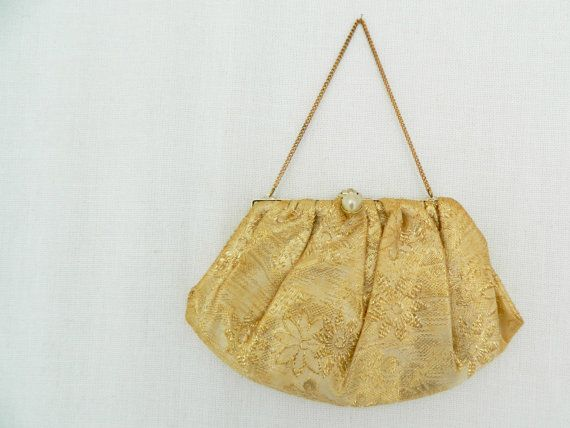 PATRICIA . vintage women's small evening bag by ThePaisley5Vintage
