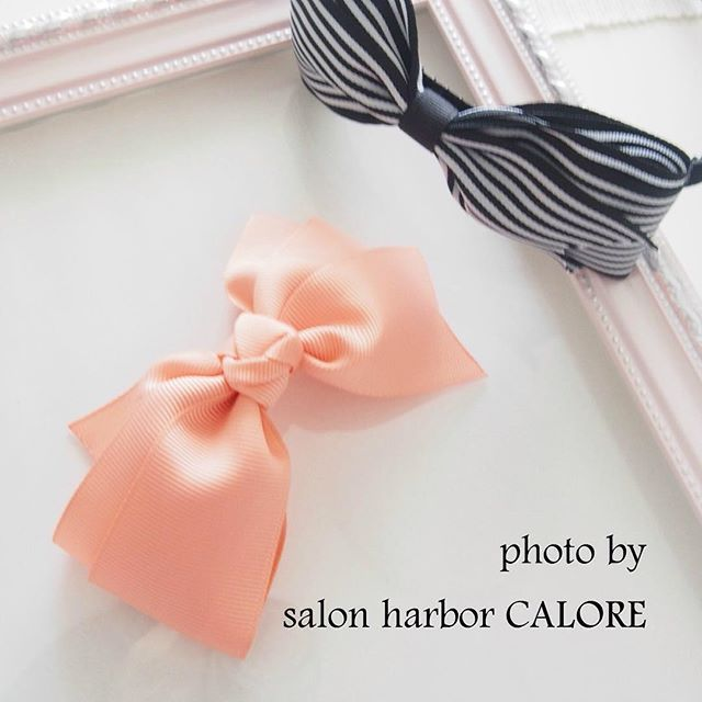 ◆salon harbor CALORE◆KOBE @saloncalore_kobe カチューシャリボ...Instagram photo | Websta (Webstagram)