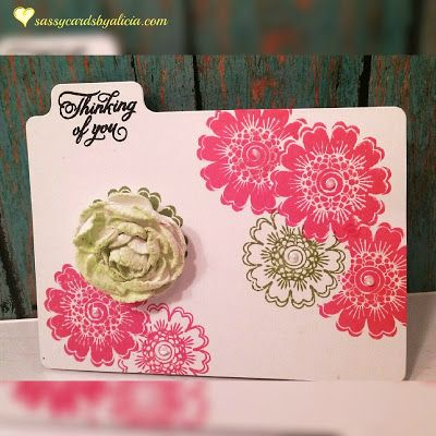 Joy Clair's Paisley Bouquet is a sentiment stamp set designed by Amy Tedder.