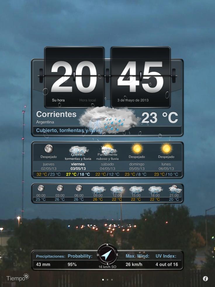 Según el pronóstico mañana lloverá...
