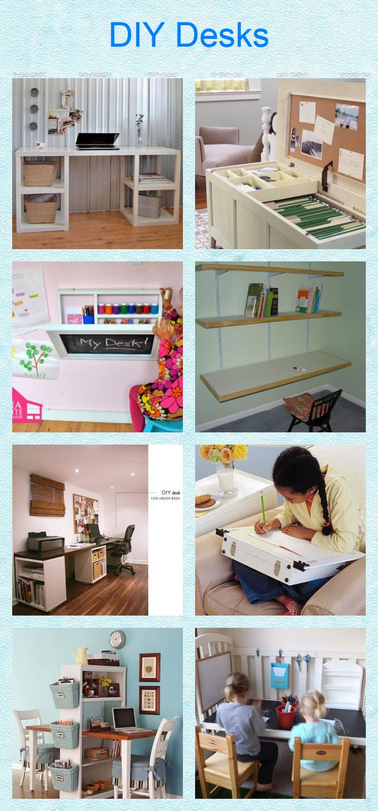 29 best images about diy kids furniture on pinterest diy for Easy diy desk