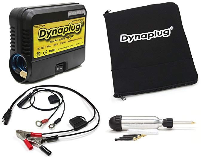 Dynaplug Ultralite Tubeless Tire Repair Tool Kit And 12volt Mini