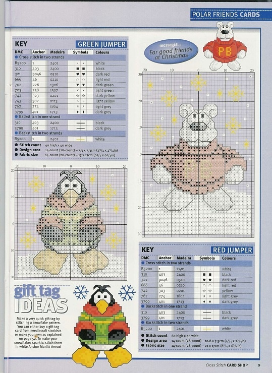 penguin and polar bear: Cross Stitch Cards, Cross Stitch Penguin, Cross Stitch Heaven, Cross Stitch Needlepoint, Crosses, Crossstitch Patterns, Cross Stitches