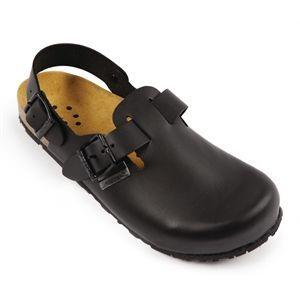 Sandalias de cuero con correa Abeba