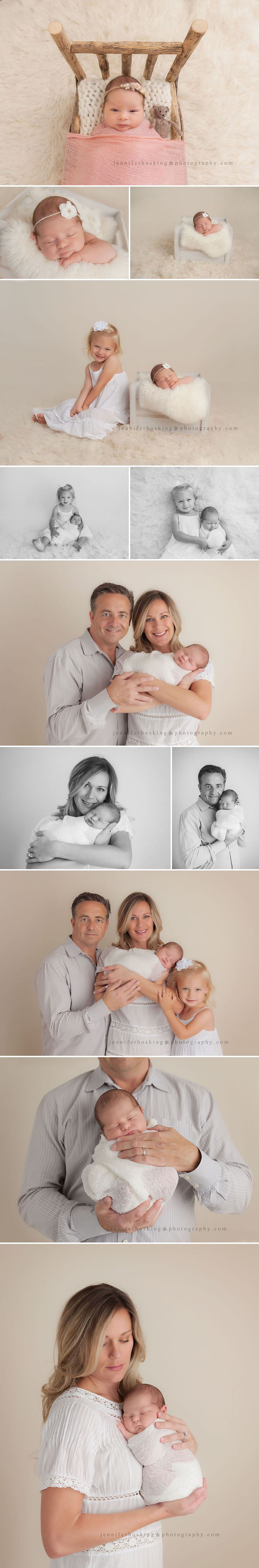 Newborn and Family Session Jennifer Hosking Photography