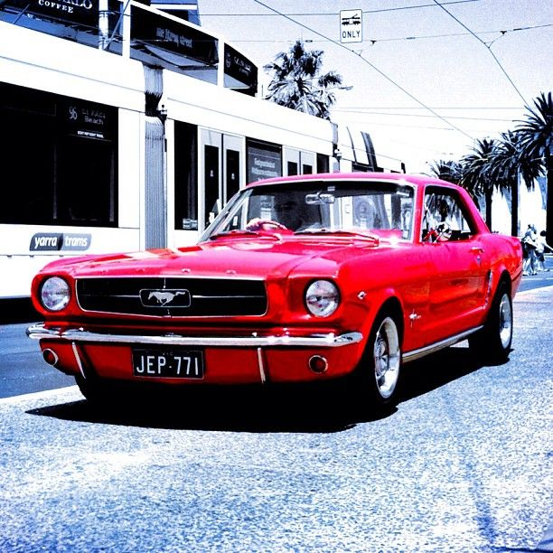 My baby, perfect year and color, Mustang <3 60s was their best era