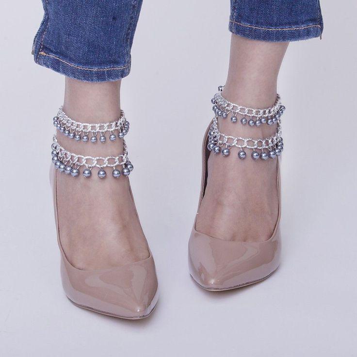 Steele Anklets