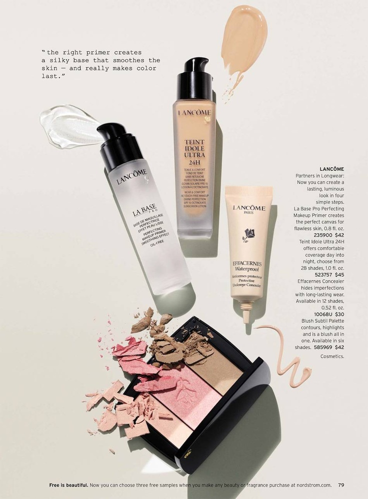 Nordstrom March 2013 Life Meet Style Catalog cosmetics