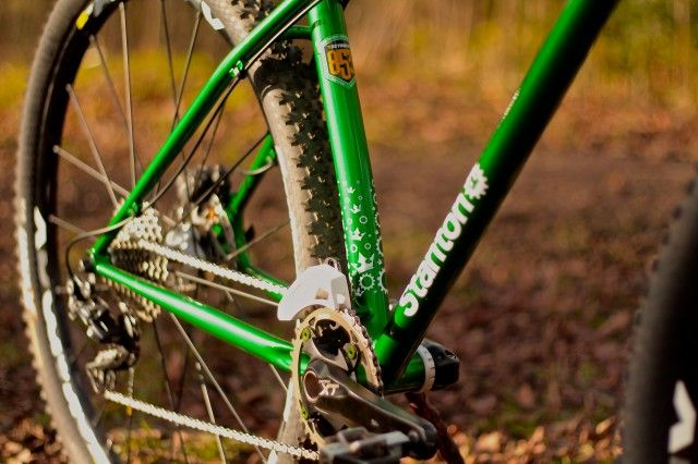 """Stanton Sherpa  Dan Stanton has gone BIG with the new Stanton Sherpa. It's a 29er designed to eat up the miles, but which also """"has a strong..."""