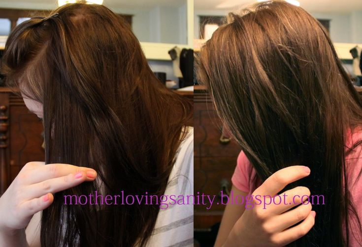 Mother Loving Sanity: How I lightened my hair with Color Oops