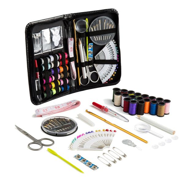 91pcs Portable Sewing Kit Home Travel Emergency Professional Sewing Set Hand Tools From Tools On Banggood Com Portable Sewing Kit Woodworking Kits Sewing Kit